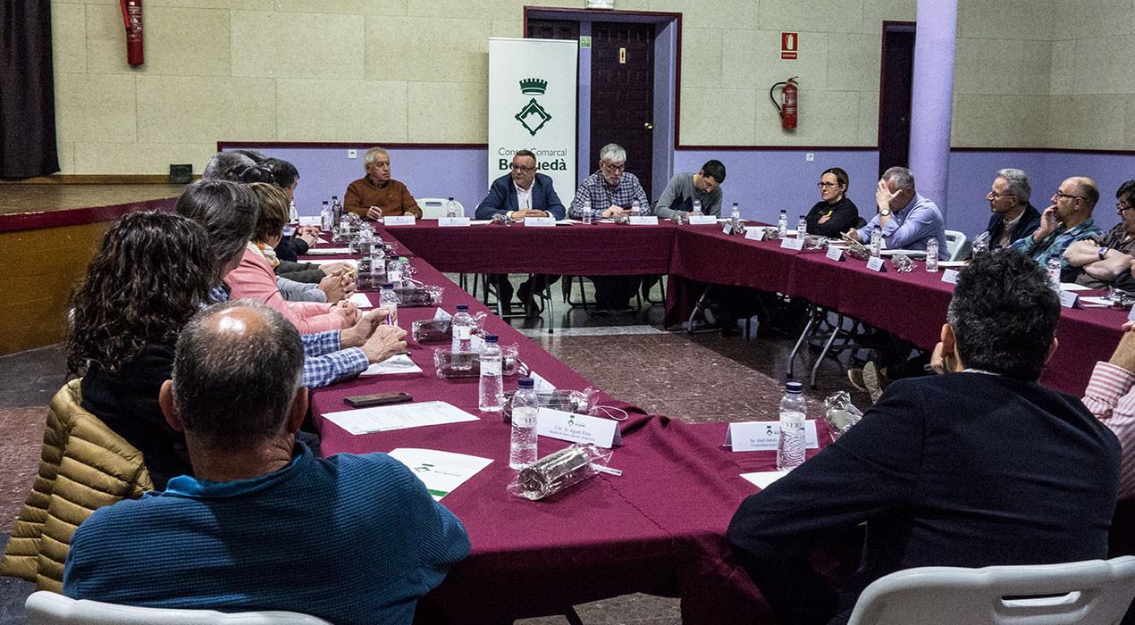 El Berguedà es beneficiarà d'un programa d'inversions de la Diputació
