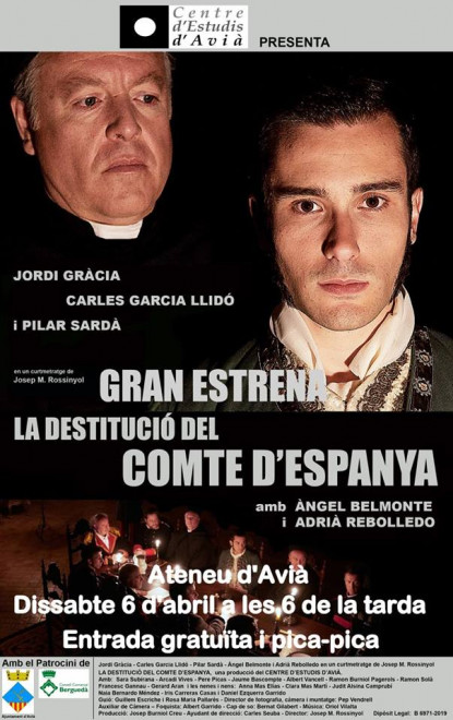 La destitució del Comte d'Espanya @ Ateneu d'AVIÀ