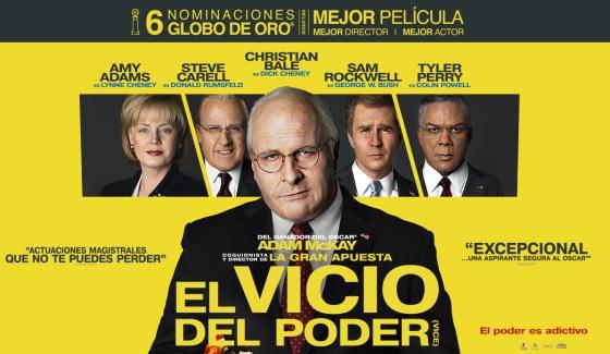 Cinema a BERGA: El vicio del poder @ Teatre Patronat de Berga