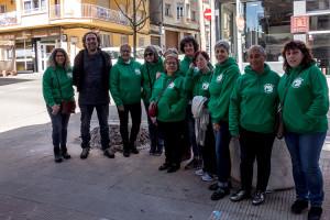 Planten tres ginkgos al carrer Salvador Espriu de Berga per donar visibilitat a la lluita contra el càncer