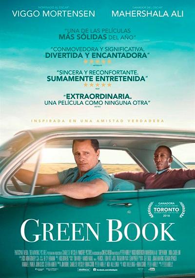 CINEMA a Berga: Green Book @ Teatre Patronat de Berga