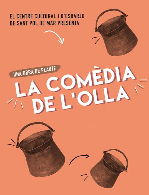 """TEATRE """"LA COMÈDIA DE L'OLLA"""" @ Teatre Esplai L'Ametlla de Merola"""