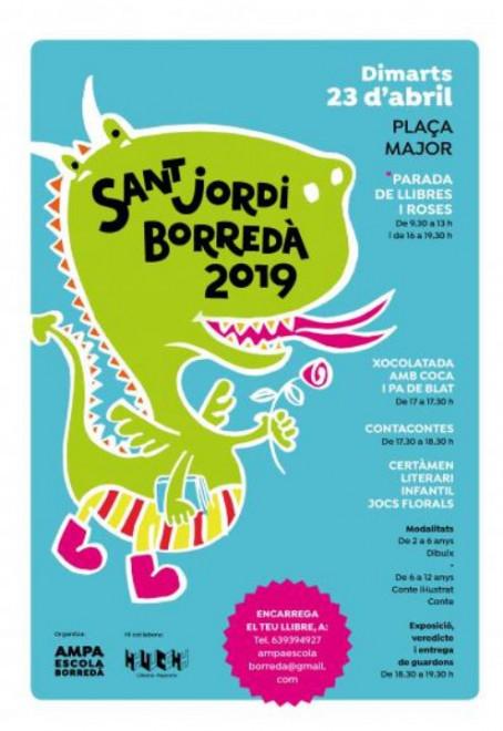 Sant Jordi 2019 a Borredà @ Borredà