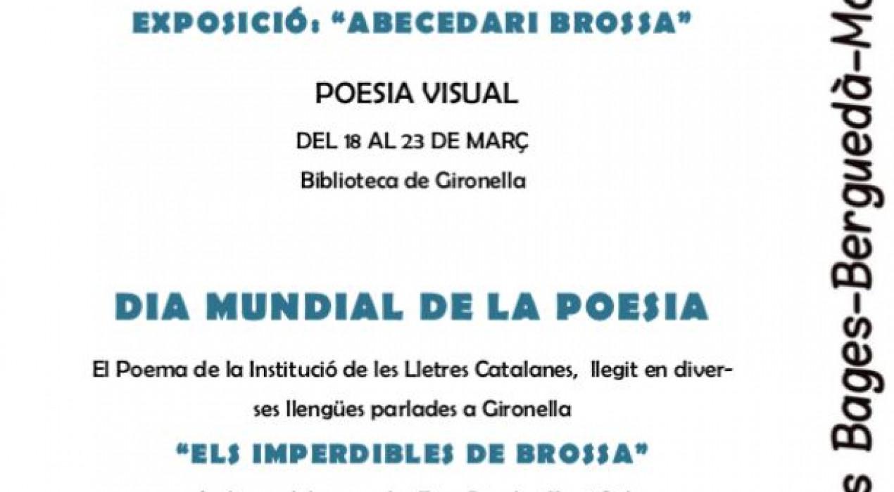 Dia Mundial de la Poesia 2019 a Gironella