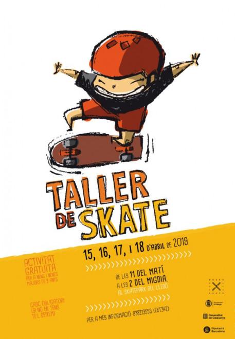 Taller de skate · abril 2019 @ Skatepark' del Lledó (BERGA)