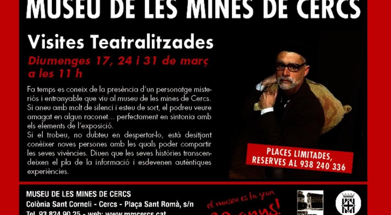 Visita teatralitzada al Museu de les Mines de Cercs