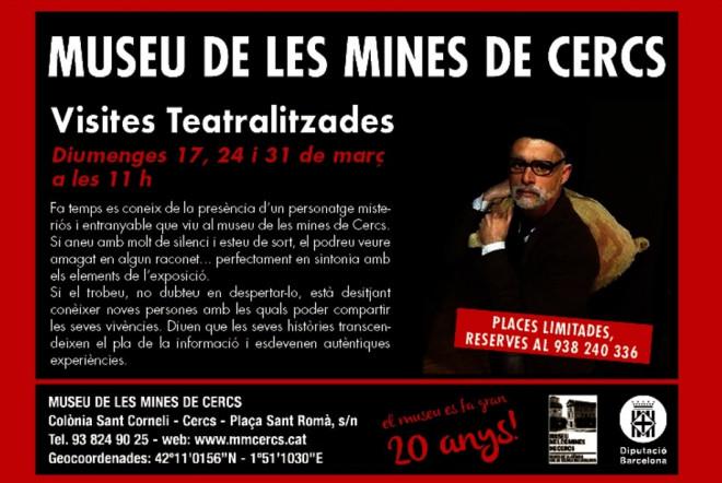 Visita teatralitzada al Museu de les Mines de Cercs @ Museu de les Mines de Cercs