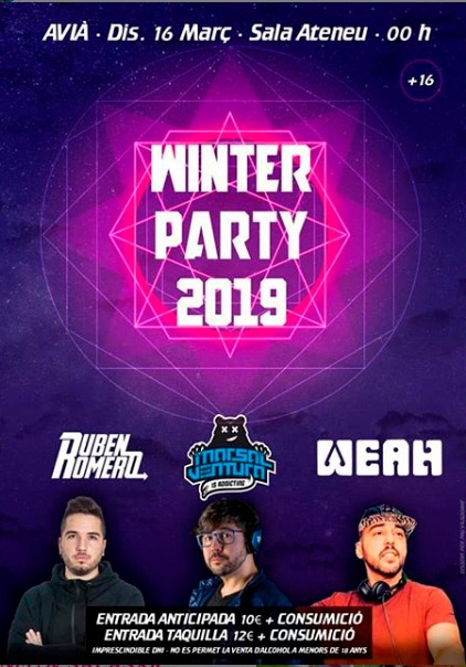 Winter Party 2019 @ Ateneu d'AVIÀ