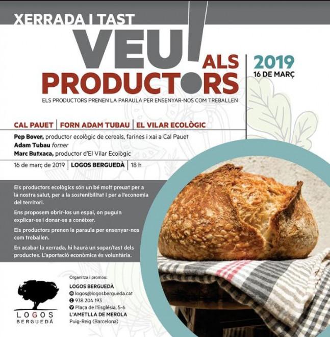 XERRADA i TAST: Veu als productors @ Logos Berguedà (l'Ametlla de Merola)