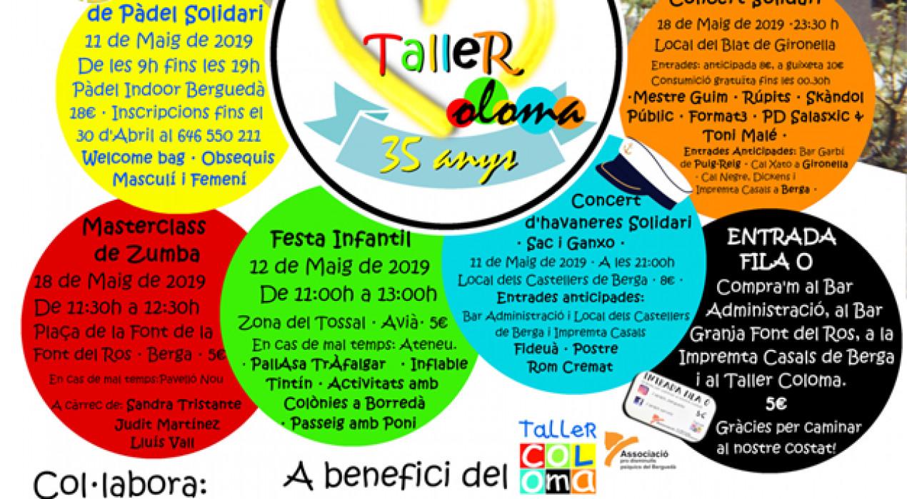 35 anys Taller Coloma: concert solidari