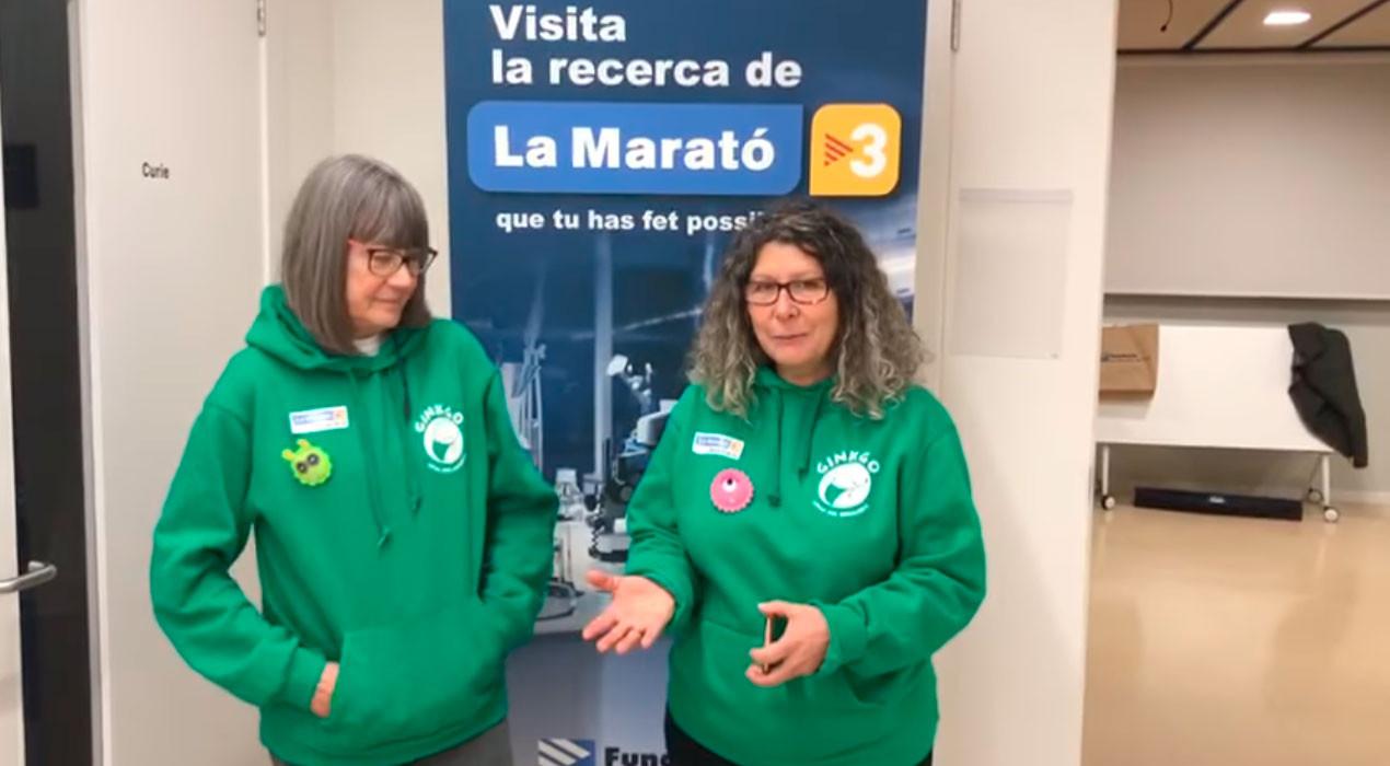 L'entitat berguedana Ginkgo, al canal de la Marató de TV3