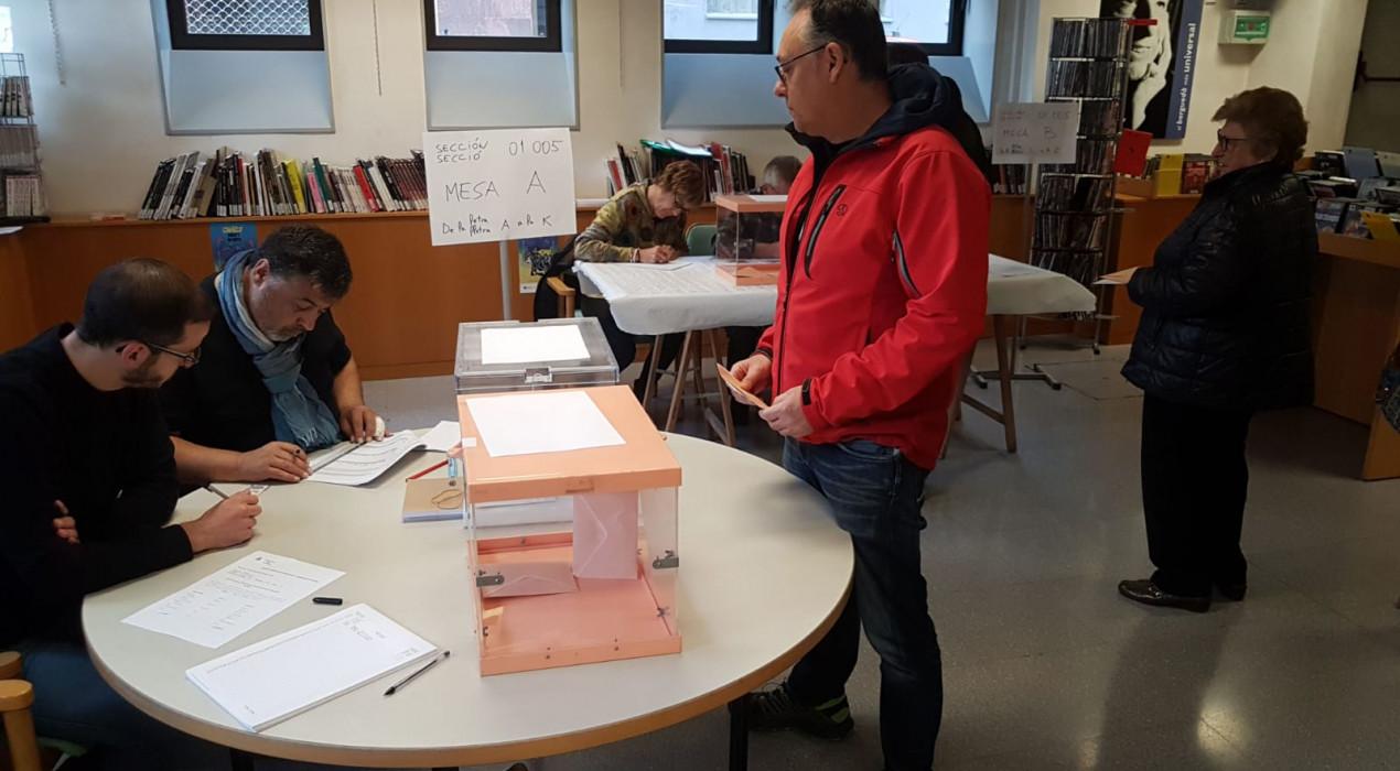 La participació a les eleccions generals creix més de 20 punts al Berguedà respecte el 2016 a les 6 de la tarda