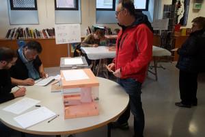 Participació rècord en unes eleccions generals al Berguedà: més del 80% de la ciutadania convocada ha anat a votar