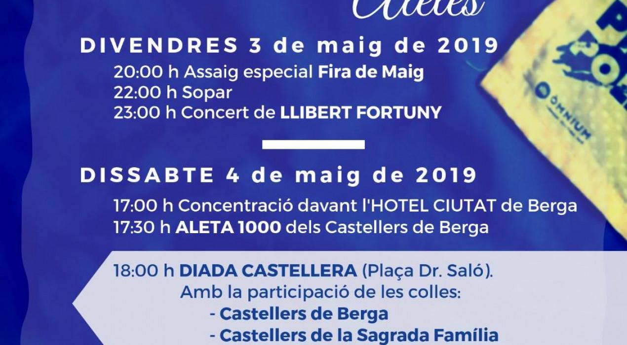 Aleta 1000 Castellers de Berga