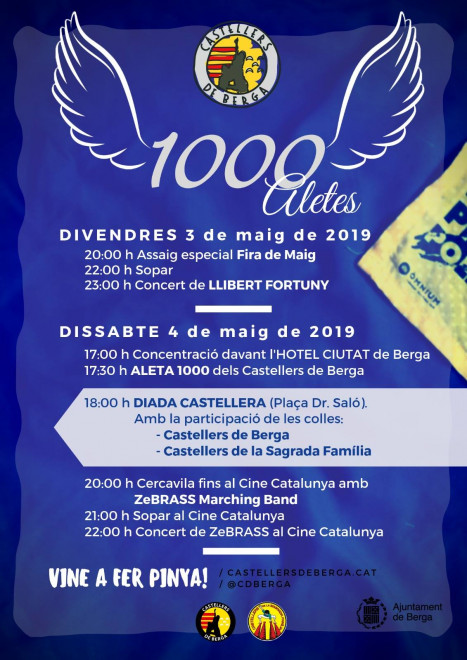 Aleta 1000 Castellers de Berga @ Cine Catalunya (BERGA)