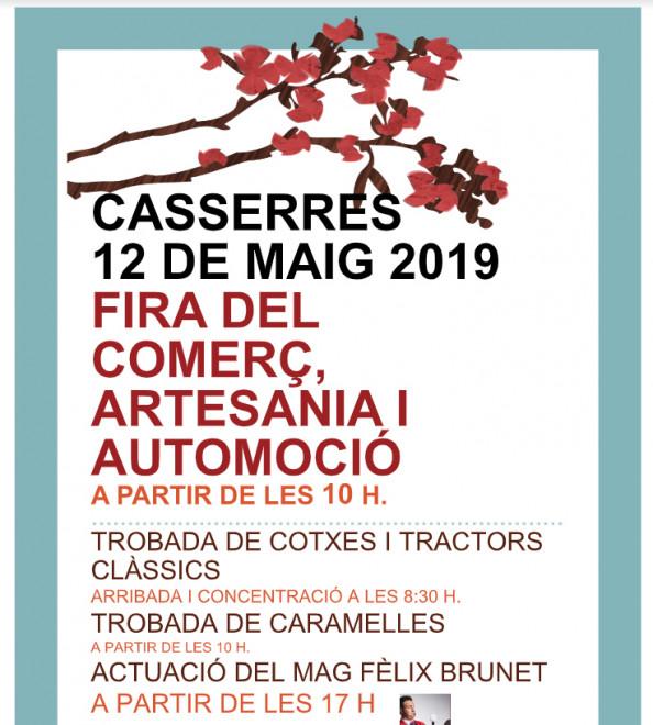 Fira del comerç, l'artesania i l'automoció 2019 @ Casserres
