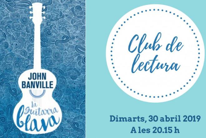 """Club de lectura """"La guitarra blava"""" @ Biblioteca Ramon Vinyes i Cluet (BERGA)"""