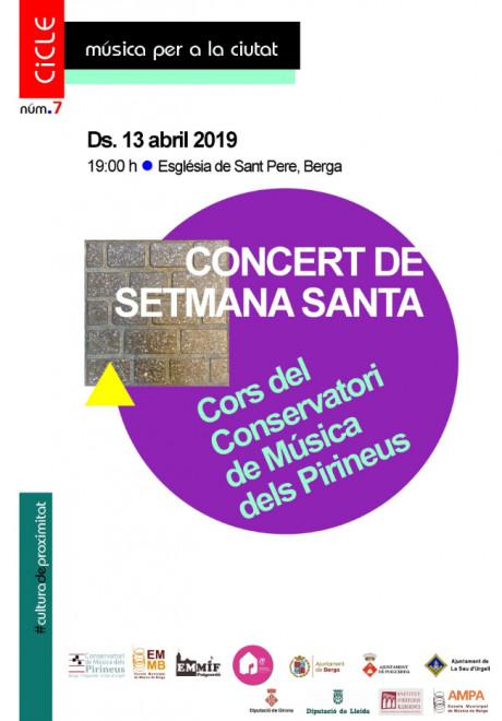 Concert de Setmana Santa @ Església de Sant Pere (BERGA)