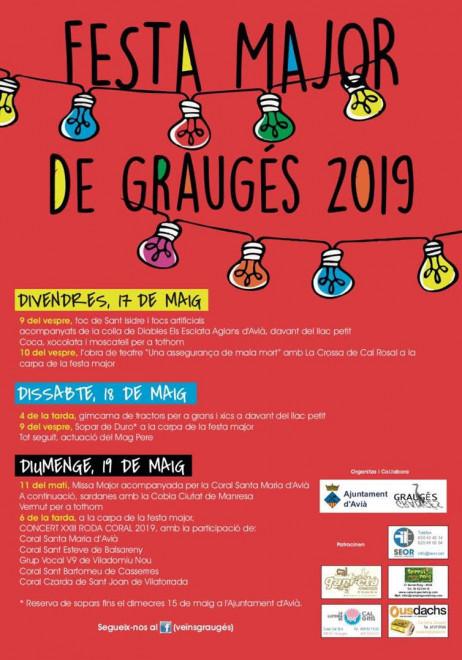 Festa Major de Graugés 2019 @ Graugés (AVIÀ)