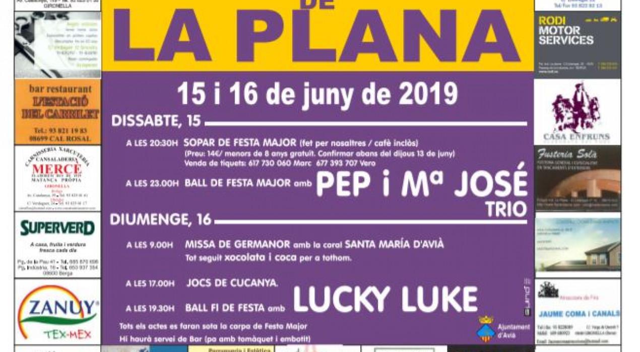 Festa Major de la Plana 2019