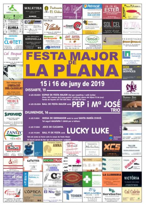 Festa Major de la Plana 2019 @ La Plana (AVIÀ)