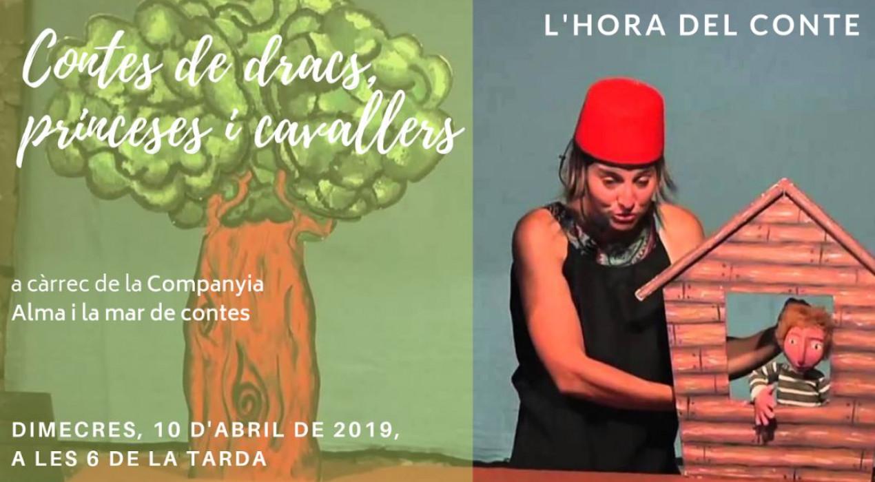 L'Hora del Conte especial Sant Jordi 2019