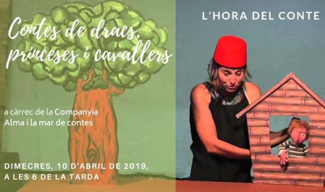 L'Hora del Conte especial Sant Jordi 2019 @ Biblioteca Ramon Vinyes i Cluet (BERGA)