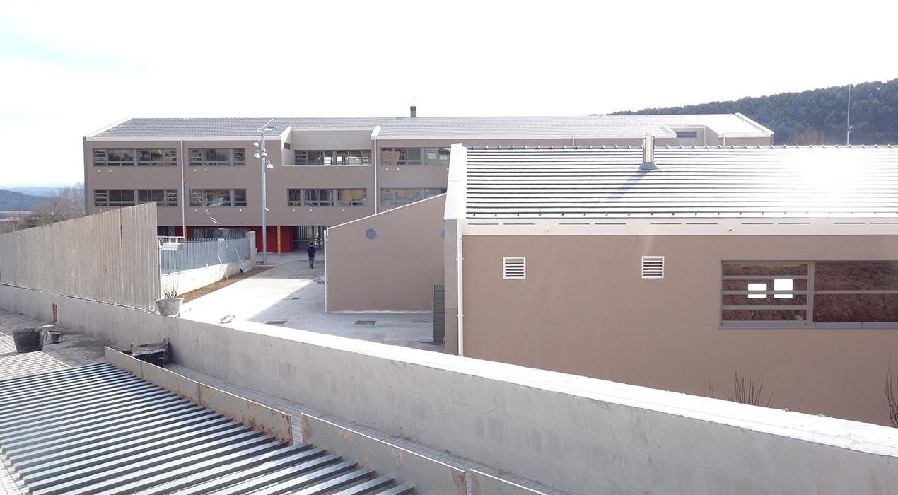 Les classes al nou institut de Berga començaran el 30 d'abril
