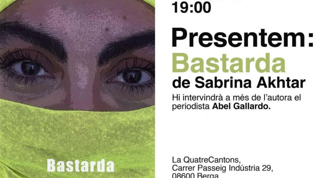 Presentació BASTARDA, de Sabrina Akhtar