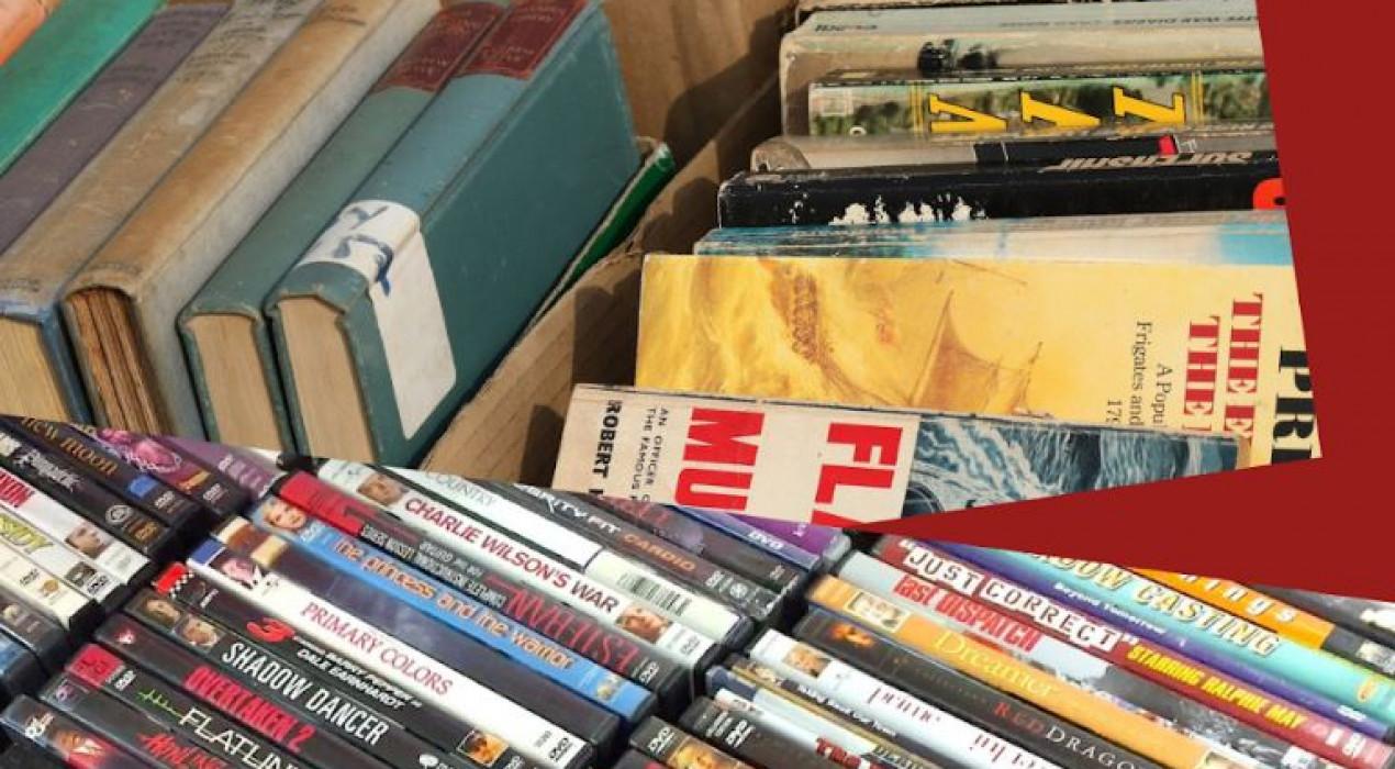 Petit Mercat de llibres, DVD i CD