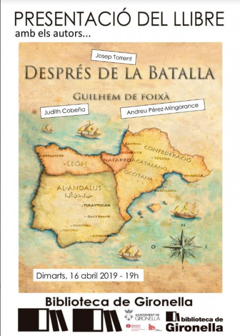"""Presentació Llibre """"DESPRÉS DE LA BATALLA"""" @ Biblioteca de Gironella"""