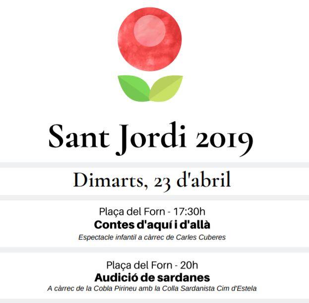 Sant Jordi 2019 a Berga @ Berga