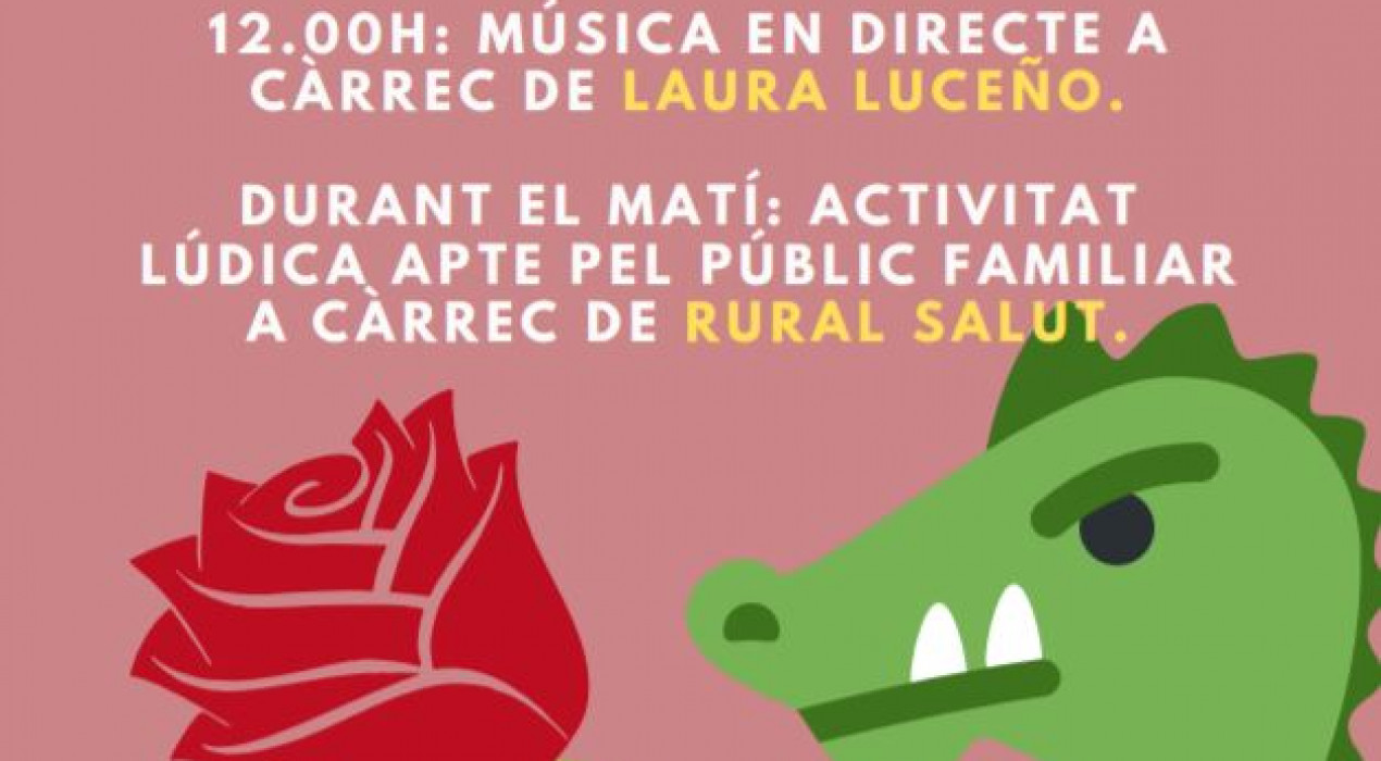 Sant Jordi 2019 a Cercs