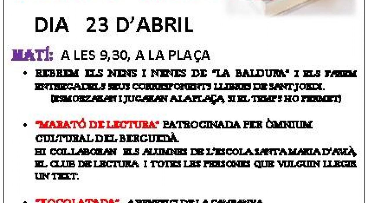 Sant Jordi 2019 a Avià
