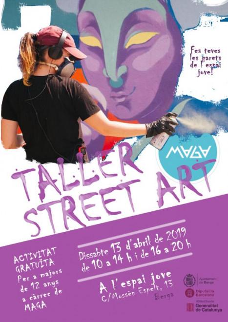 Taller de STREET ART @ Espai Jove (C/Mossèn Espelt, 13 - BERGA)