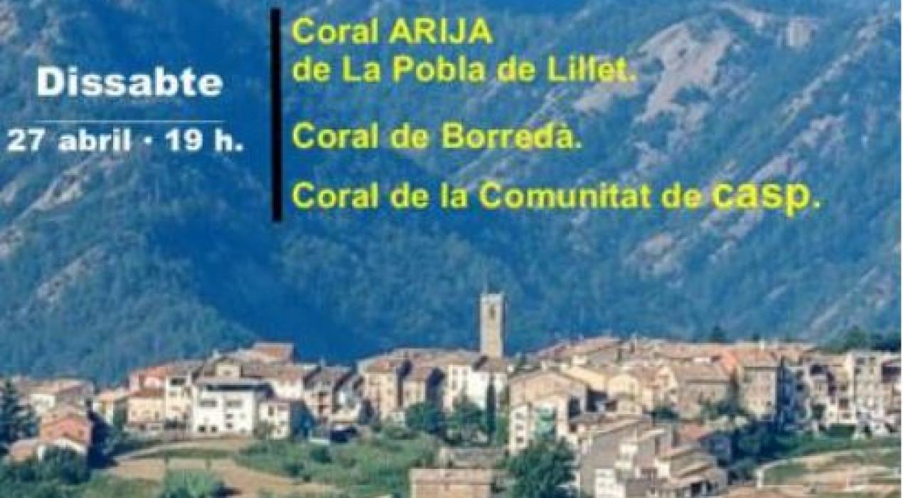 CONCERT DE PRIMAVERA- IV TROBADA CORAL