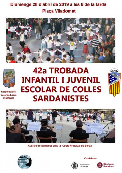 42a Trobada Infantil i Juvenil Escolar de Colles Sardanistes @ Plaça Viladomat