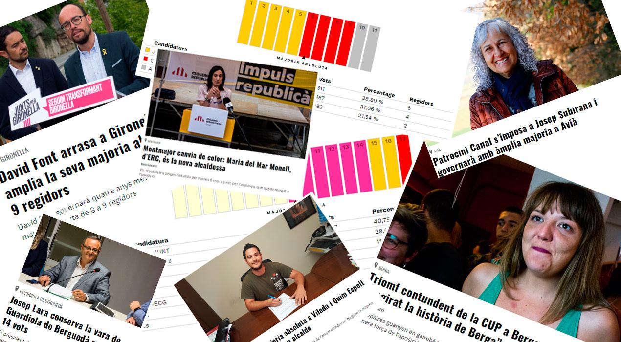 Rècord històric de visites a l'Aquí Berguedà en l'especial sobre les eleccions municipals