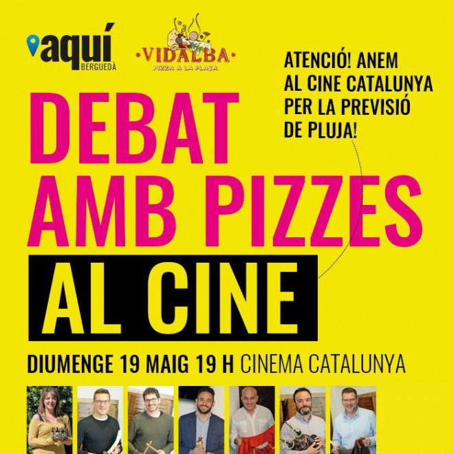 Debat electoral amb pizzes al cine @ Cine Catalunya (BERGA)