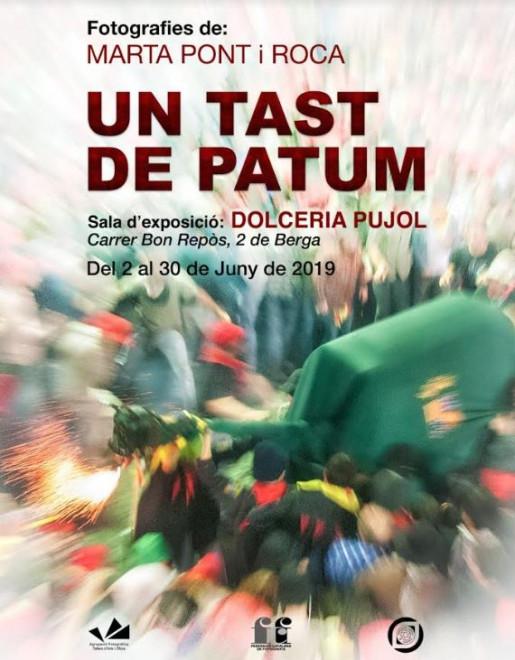 "Exposició ""Un tast de Patum"" @ Dolceria Pujol (BERGA)"