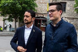 """Calvet reitera a Berga que la Generalitat té els diners per fer l'estació però reclama """"un govern valent"""" que decideixi el lloc"""