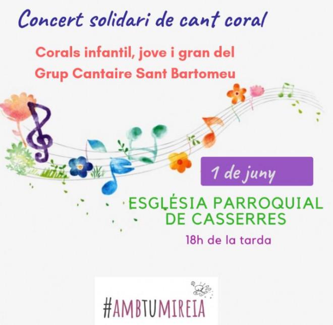 Concert solidari de cant coral @ Esglèsia Parroquial de Casserres