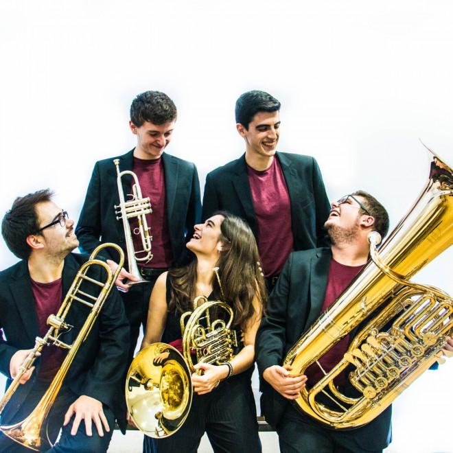 Concert KamBrass Quintet @ Teatre Municipal de Berga