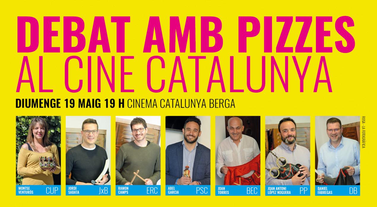 El debat de l'Aquí Berguedà es trasllada al Cine Catalunya diumenge a les 19 h