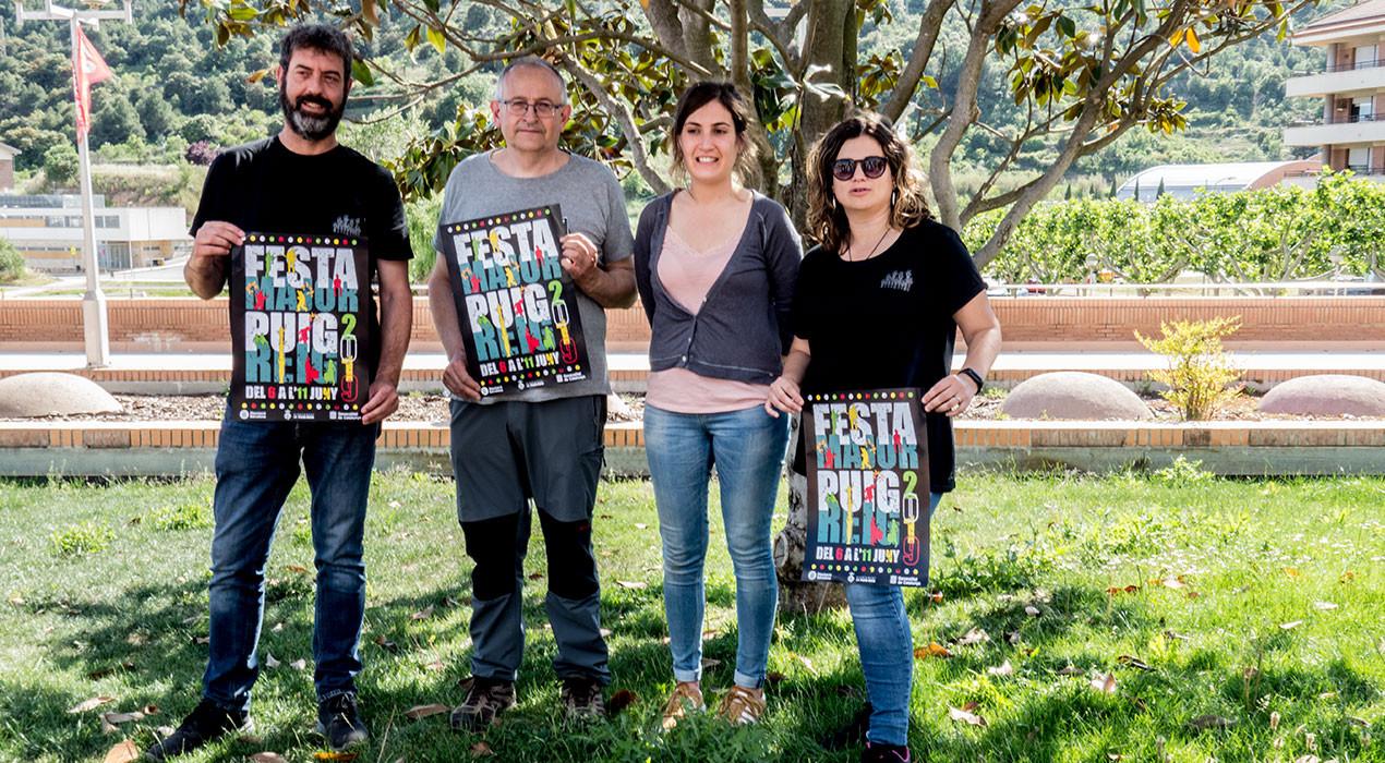 Les entitats i la música, pals de paller d'una Festa Major de Puig-reig continuista