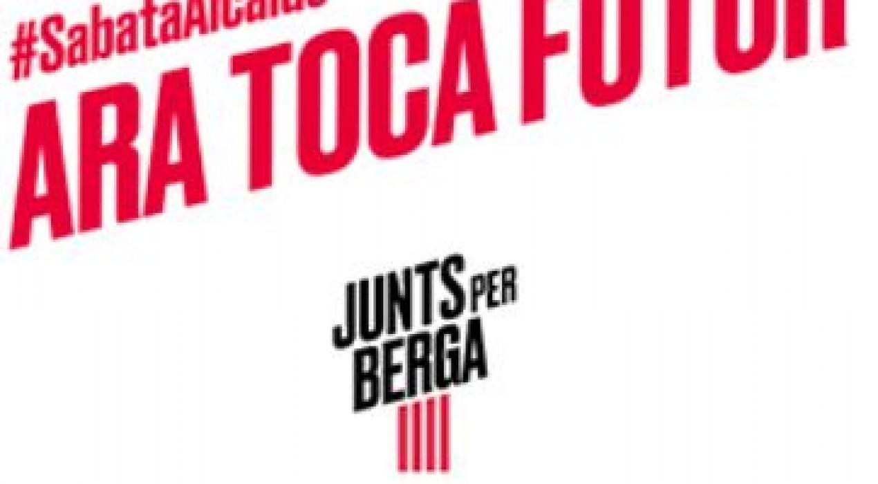 Presentació programa JUNTS PER BERGA