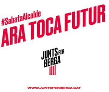 Presentació programa JUNTS PER BERGA @ Plaça de les Fonts (BERGA)
