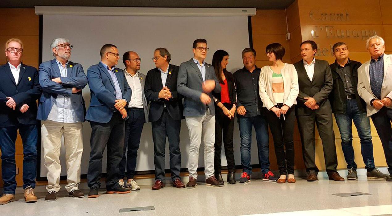 Junts per Catalunya presenta 18 alcaldables al Berguedà per estrènyer el vincle amb la Generalitat