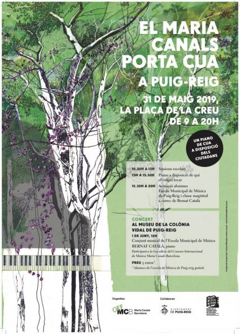 Maria Canals porta cua a Puig-reig @ Museu de la Colònia Vidal