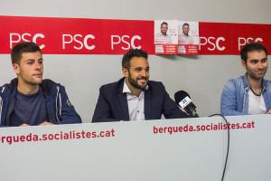 El PSC vol traslladar la biblioteca de Berga a Sant Francesc i posar sostre a la pista de Santa Eulàlia